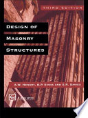 Design of Masonry Structures