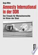 Amnesty International in der DDR