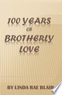 download ebook 100 years of brotherly love pdf epub