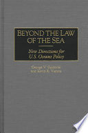Beyond the Law of the Sea