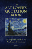 The Art Lovers Quotation Book