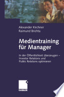 Medientraining f  r Manager