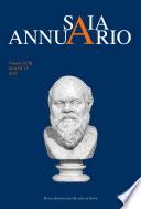 SAIA  Annuario della Scuola Archeologica di Atene e delle Missioni Italiane in Oriente  Volume XCIII  Serie III  15  2015