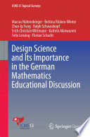 Design Science and Its Importance in the German Mathematics Educational Discussion