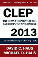 Clep Information Systems and Computer Applications   2013