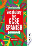 Vocabulary For Gcse Spanish