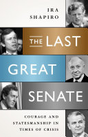 The Last Great Senate America During The Crisis Years
