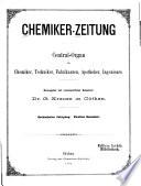 Chemiker-Zeitung