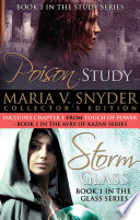 Maria V Snyder Collection Poison Study Storm Glass book