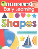 Sticker Early Learning  Shapes