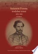 Salamon Ferenc irodalmi írásai
