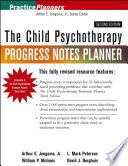 The Child Psychotherapy Progress Notes Planner Prewritten Session And Patient Presentationdescriptions For