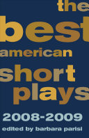 The Best American Short Plays, 2008-2009