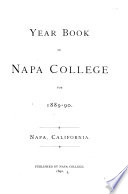 Year Book of Napa College
