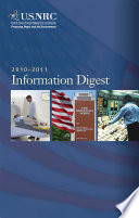 United States Nuclear Regulatory Commission Information Digest 2010 2011