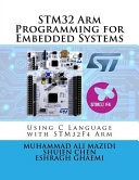 Stm32 Arm Programming for Embedded Systems
