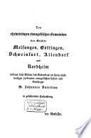 M. Johannes Sutellius, Reformator und erster Superintendent der Kirchen zu Göttingen und Schweinfurt, Superintendent zu Allendorf und Nordheim nach gedruckten und ungedruckten Quellen