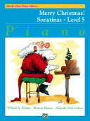 Alfred's Basic Piano Library - Merry Christmas! Sonatinas Book 5