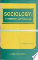 Sociology  a Systematic Introduction