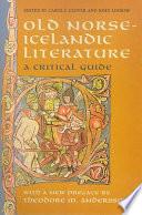 Old Norse Icelandic Literature