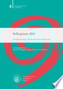 Kolloquium 2011