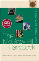 The McGraw Hill Handbook 2009 MLA Update  paperback