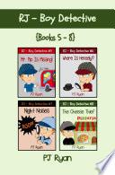 RJ - Boy Detective Books 5-8 Bundle