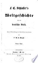Wetlgeschichte für das deutsche Volk