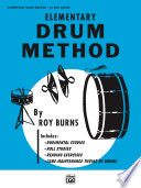 Elementary Drum Method Music And An Introduction To Bass Drum And