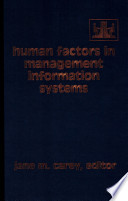 Human Factors in Management Information Systems