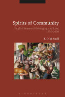 download ebook spirits of community pdf epub