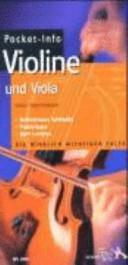 Pocket-Info Violine und Viola