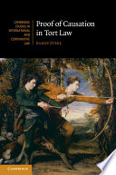 Proof of Causation in Tort Law