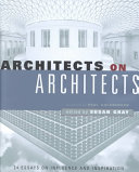 Architects on architects