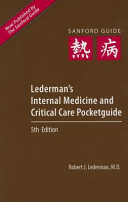 Lederman s Internal Medicine and Critical Care Pocketguide