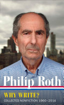 Philip Roth   Why Write