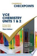 Cambridge Checkpoints Vce Chemistry Units 1 And 2 book