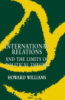 International Relations and the Limits of Political Theory