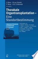 Thorakale Organtransplantation