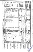 Collection of English Almanacs for the Years 1702-1835