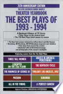 The Best Plays of 1993 1994