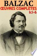Balzac   Oeuvres Compl  tes Illustr  es LCI 6