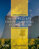 Intermediate Environmental Economics