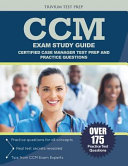 CCM Exam Study Guide