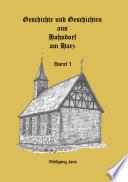 Hahndorfer Geschichten & Geschichte