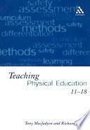 Teaching Physical Education 11 18