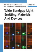 Wide Bandgap Light Emitting Materials And Devices