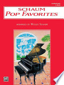 Schaum Pop Favorites  A  The Red Book Book PDF