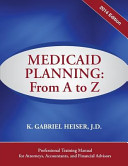 Medicaid Planning  From A to Z  2014