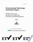 Ps Analytical Ltd Sir Galahad Ii Mercury Continuous Emission Monitor